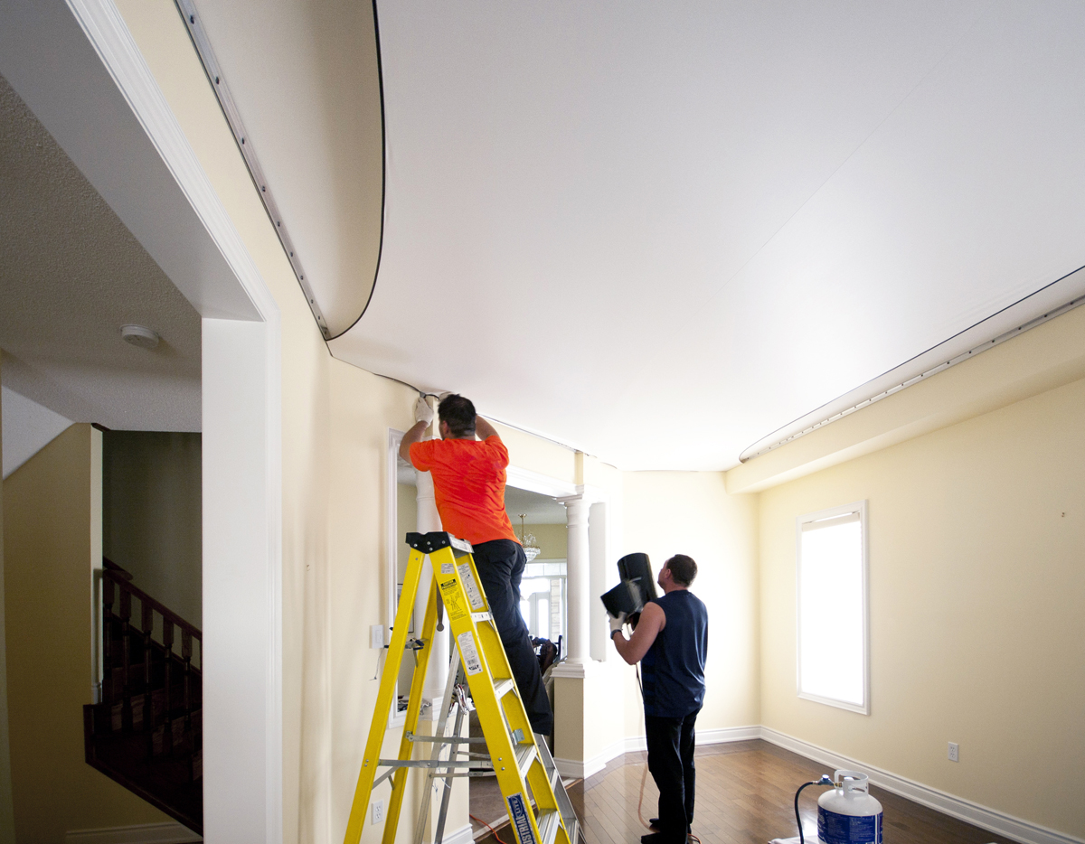 ceiling installation 1