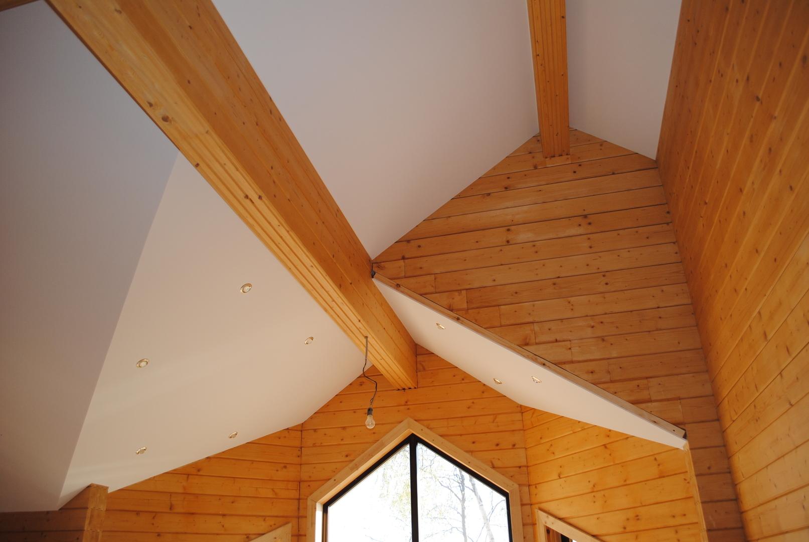 Потолок в частном доме своими руками (80 фото как сделать самому) 33