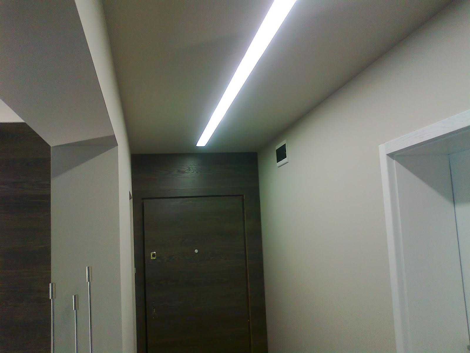 натяжные потолки для зала (3)