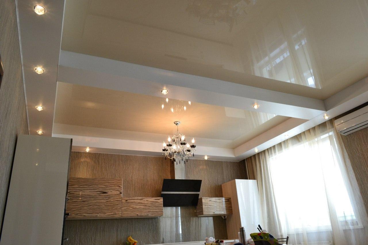 натяжные потолки для зала (4)
