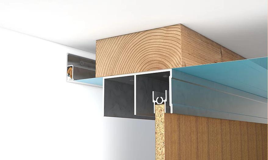 натяжной потолок и встраиваемый шкаф купе (2)