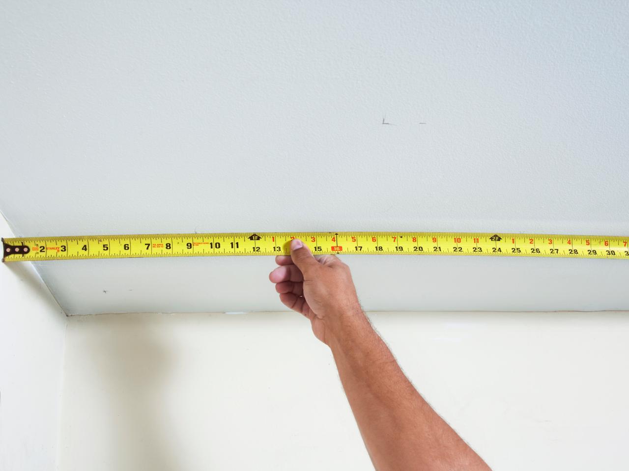 Как правильно замерить потолок для натяжного полотна (1)