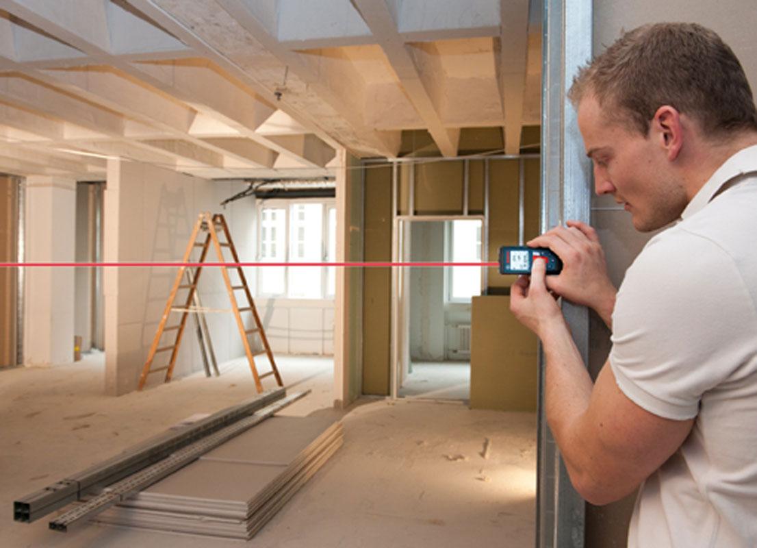 Как правильно замерить потолок для натяжного полотна (2)