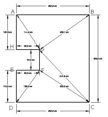 Как правильно замерить потолок для натяжного полотна (3)