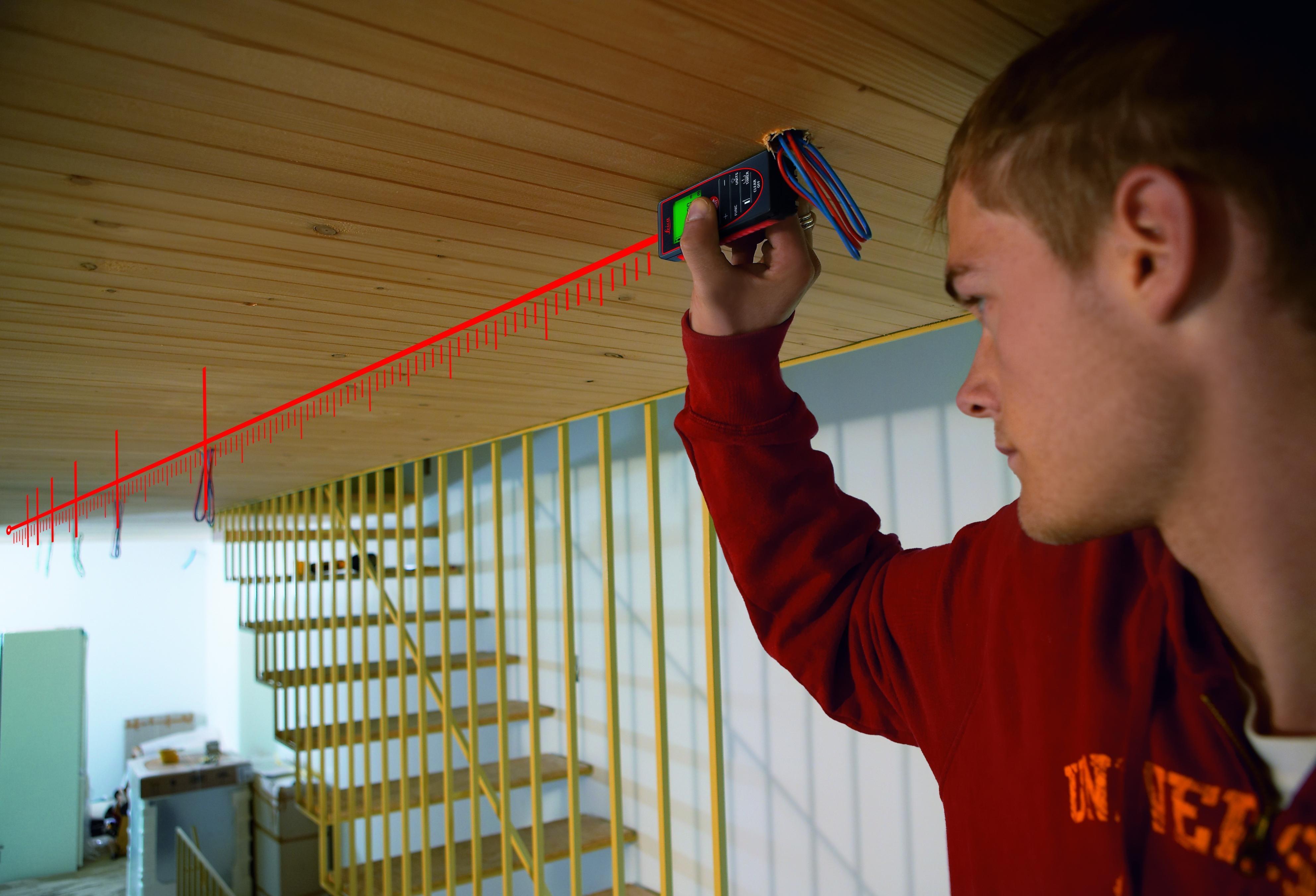 Как правильно замерить потолок для натяжного полотна (4)